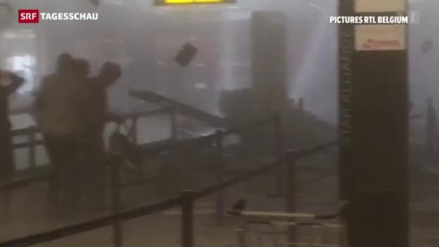Video «Terroranschläge in Brüssel» abspielen
