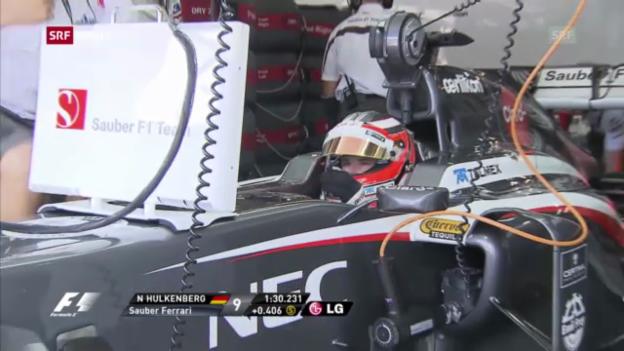 Video «Formel 1: Qualifying GP Deutschland («sportaktuell»)» abspielen