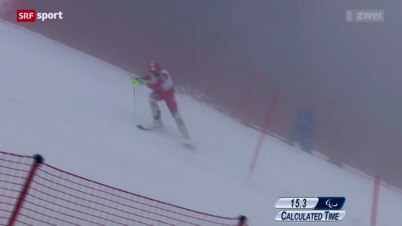 Ski: Kombi-Slalom stehend