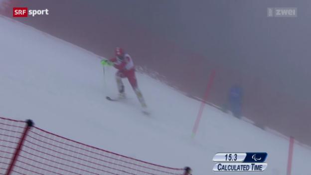 Video «Ski: Kombi-Slalom stehend» abspielen