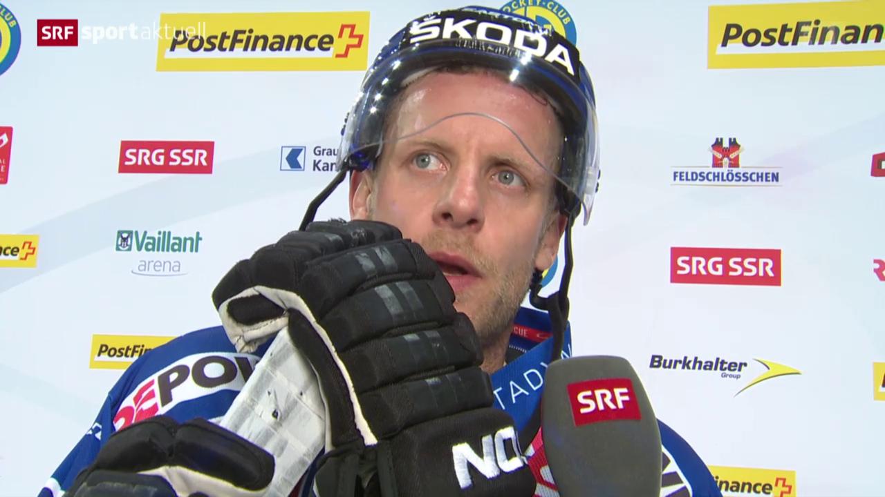 Eishockey: Reto von Arx erreicht 1000-er Marke