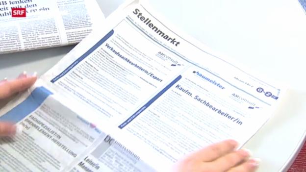 Video «Steigende Arbeitslosenquote in Schweiz und EU» abspielen