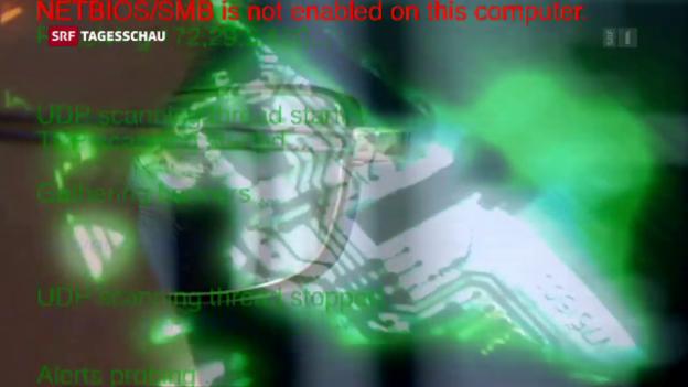 Video «Hackerangriff auf VBS und EDA» abspielen