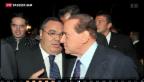 Video «Silvio Berlusconi lässt sich nicht unterkriegen» abspielen