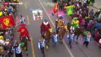 Video «35'000 zum «Güdismändig» in Luzern» abspielen