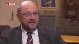 Video «Martin Schulz kandidiert für das Kanzleramt» abspielen
