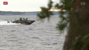 Video «Schwedische Marine sucht nach russischem U-Boot» abspielen