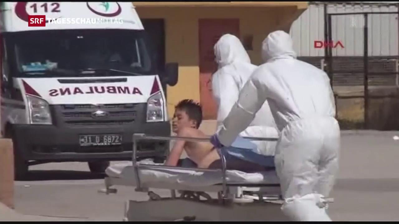 Syrien: Zahl der Todesopfer nach oben korrigiert