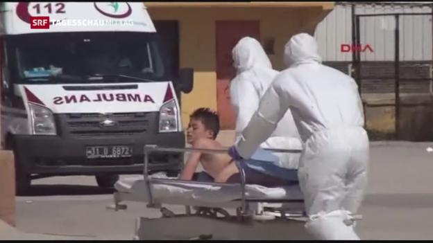 Video «Syrien: Zahl der Todesopfer nach oben korrigiert» abspielen