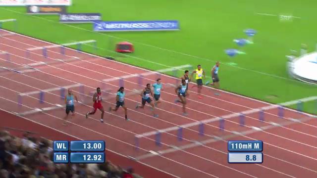 100-m-Hürden der Männer («sportlive»)