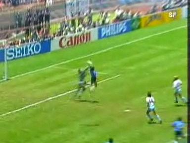 Diego Maradonas «Hand Gottes».