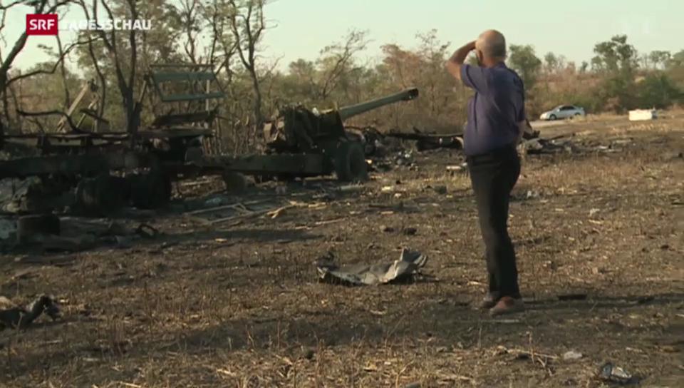 Ukrainische Waffenruhe hält – anscheinend