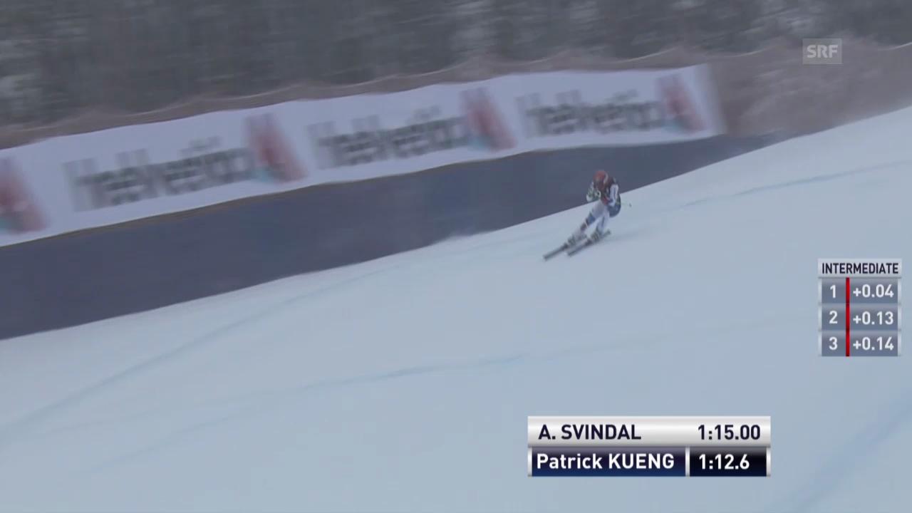 Die Fahrt von Patrick Küng («sportlive»)