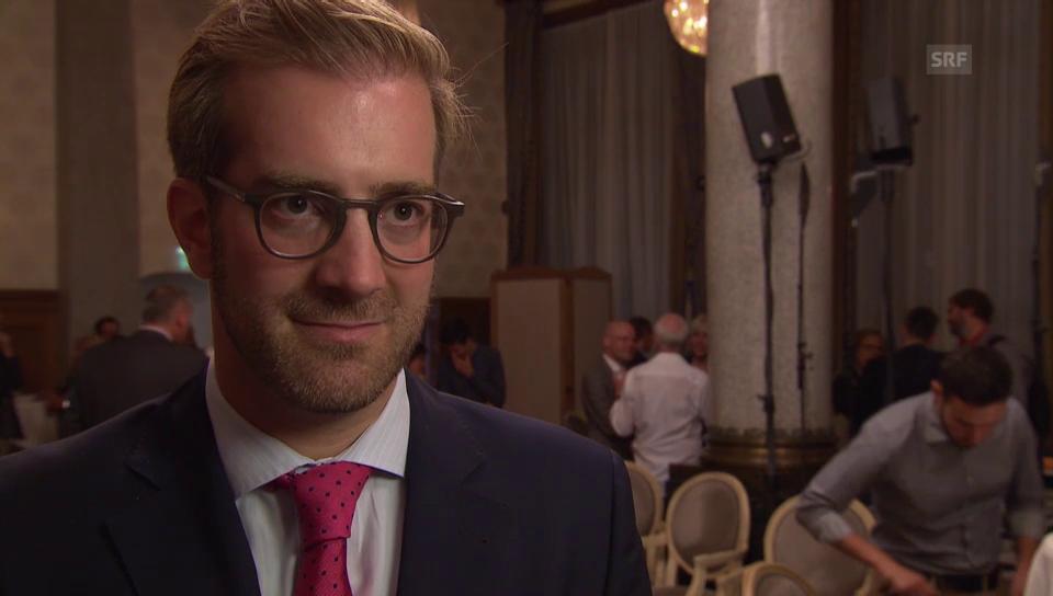Notar Conradin Cramer kandidiert für den Regierungsrat