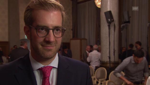 Video «Notar Conradin Cramer kandidiert für den Regierungsrat» abspielen