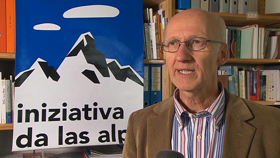 Reaktion der Alpen-Initiative