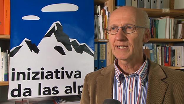 Video «Reaktion der Alpen-Initiative» abspielen
