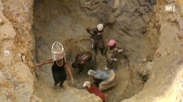 Video «26.10.2010: Miese Arbeitsbedingungen, verseuchte Natur» abspielen