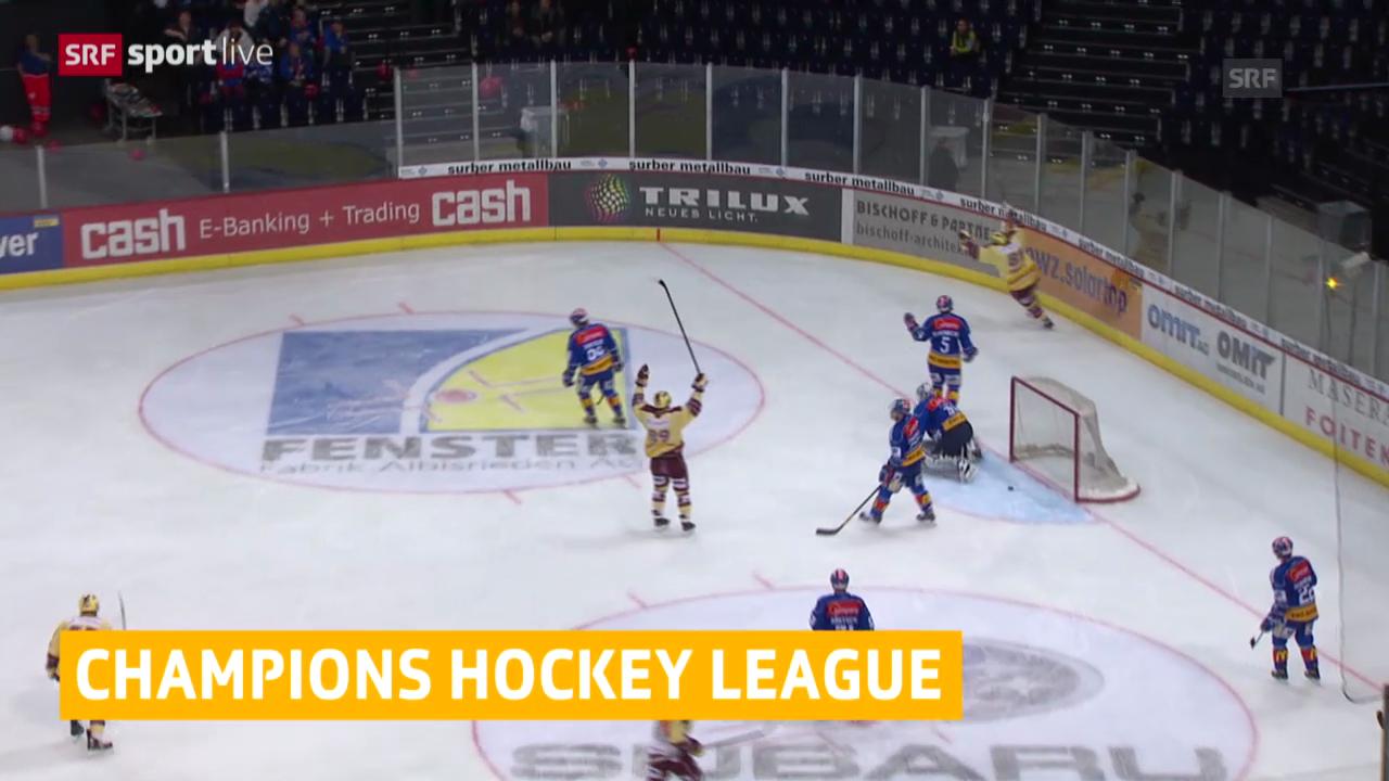 Eishockey: Kloten und Genf in der Champions League