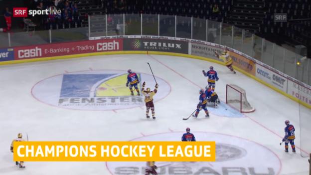 Video «Eishockey: Kloten und Genf in der Champions League» abspielen