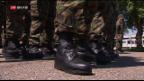 Video «Armee verschiebt Wiederholungskurse» abspielen