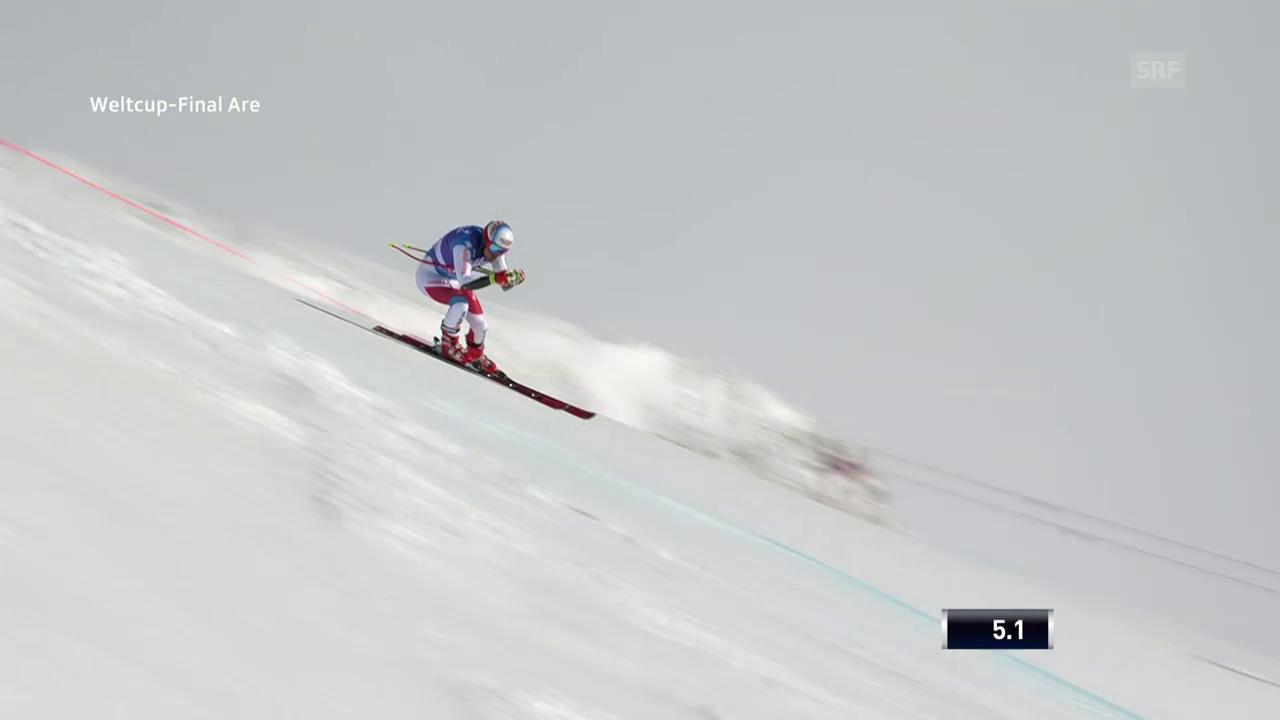 Mauro Caviezel fährt in Are in die Top 10
