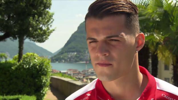 Video «Xhaka: «Arsenal ist der nächste Schritt vorwärts»» abspielen