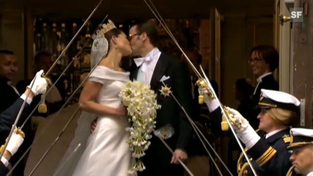 Highlights der Hochzeit von Kronprinzessin Victoria und Prinz Daniel von Schweden