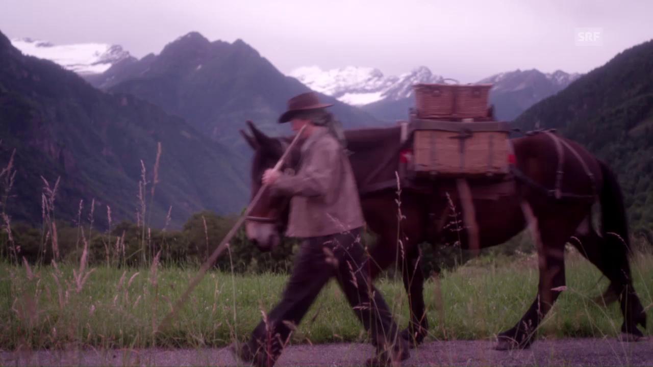 Trailer Schweiz aktuell am Gotthard