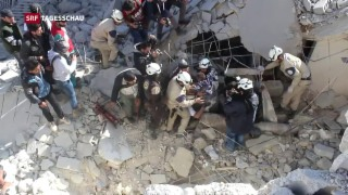 Video «Israel evakuiert 100 Weisshelme» abspielen