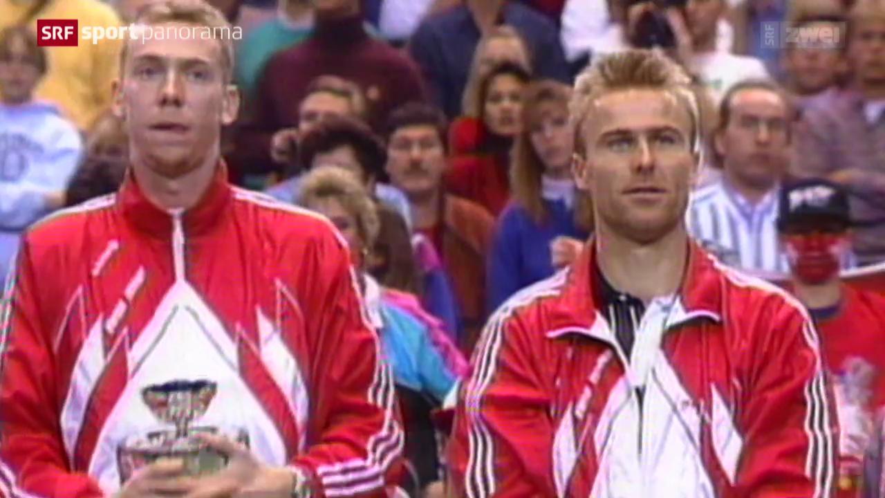 Tennis: Rückblick auf den Davis-Cup-Final 1992