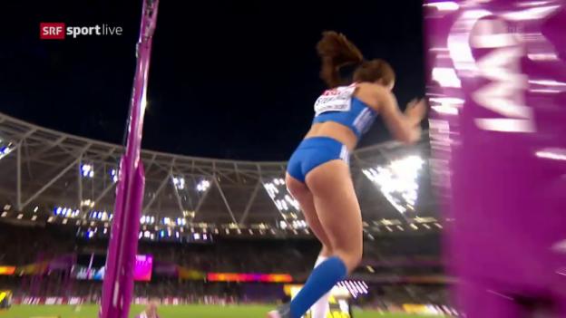 Video «4,91 m: Der Sprung von Stefanidi» abspielen