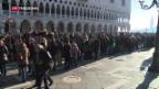 Video «Venedig-Touristen sollen Eintritt zahlen» abspielen