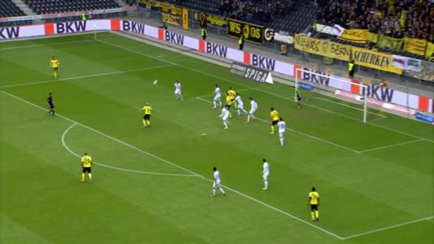 Video «Fussball: Tor von Farnerud gegen den FCZ» abspielen