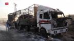 Video «Schuldfrage nach Angriff auf Uno-Konvoi in Syrien offen» abspielen