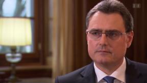 Video «SNB unter Dauerkritik – Präsident Thomas Jordan im Interview» abspielen