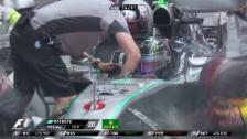 Video «Formel 1: GP Singapur, Out Nico Rosberg» abspielen