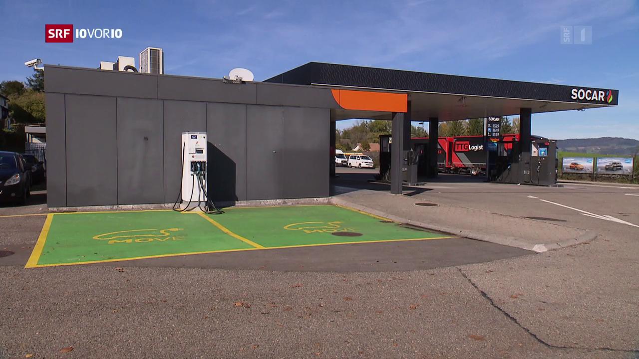 Die Tankstelle der Zukunft