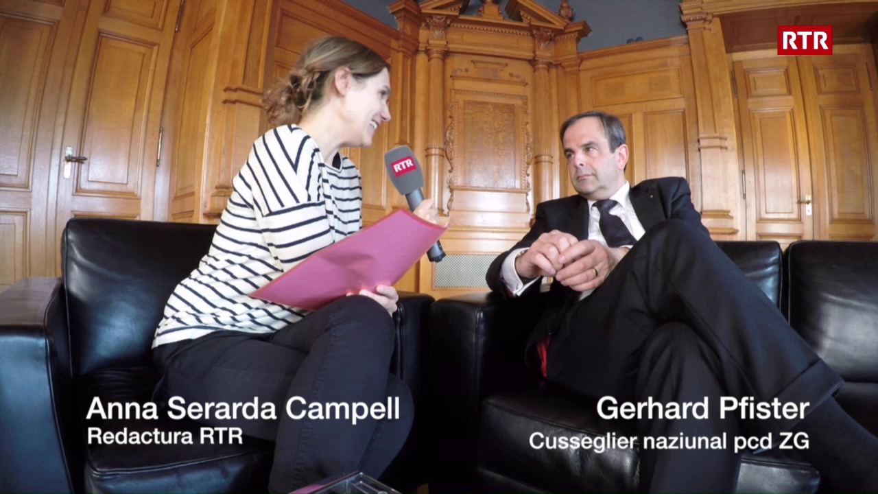 Intervista cun Gerhard Pfister 1. part