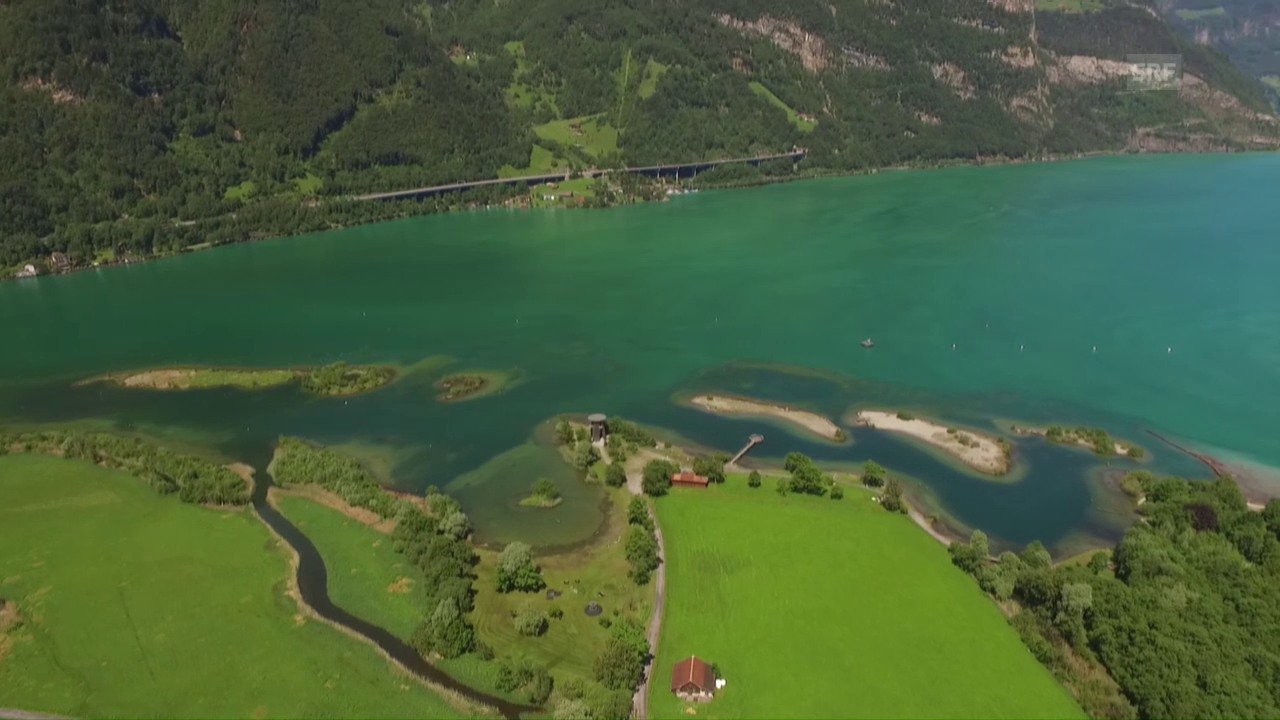 Gotthard-Inseln im Urnersee