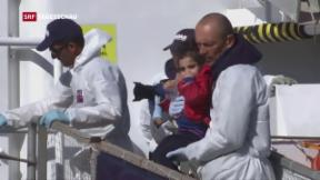 Video «Trügerische Entspannung im Asylbereich» abspielen