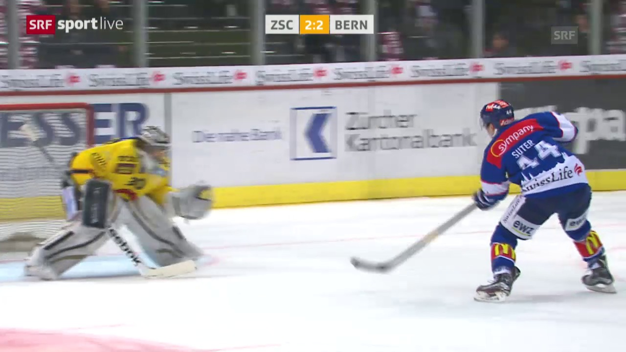 Pius Suter trifft per Penalty