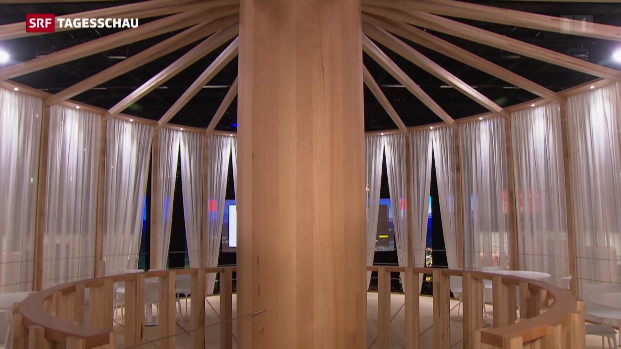 Holz ist im Trend an der «Swissbau»