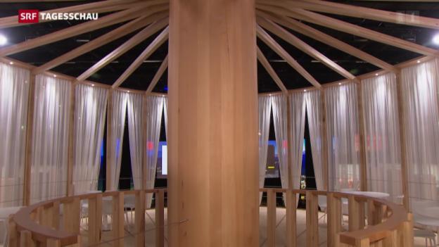 Video «Holz ist im Trend an der «Swissbau»» abspielen