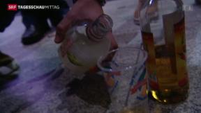 Video «Nationalrat gegen nächtliches Alkoholverkaufs-Verbot» abspielen