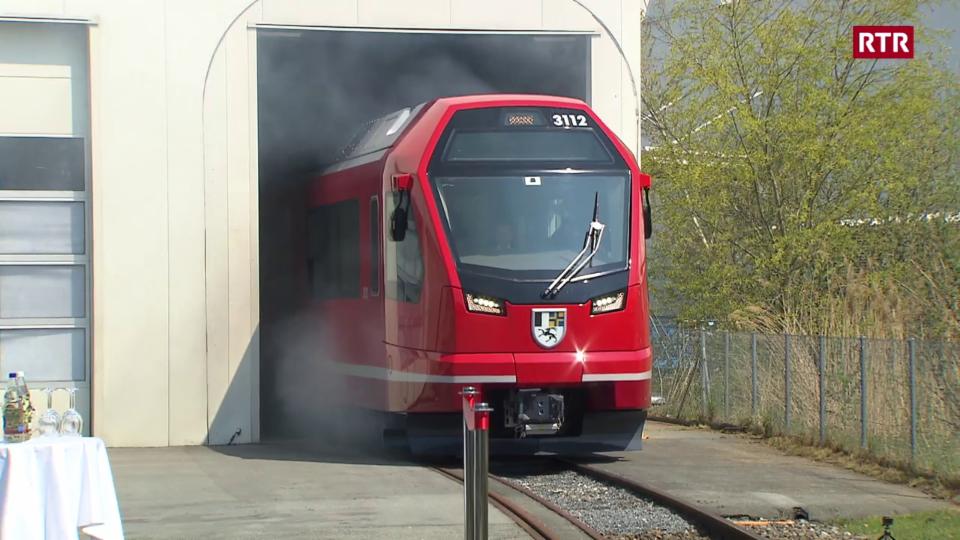 Viafier retica e Stadler Rail han preschentà il nov tren Capricorn