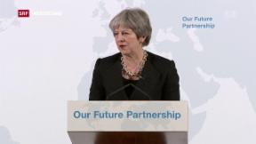 Video «May ohne klare Brexit-Vorstellungen» abspielen