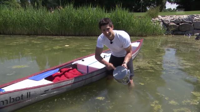 «Einstein» entdeckt ... weshalb ein Schiff schwimmt