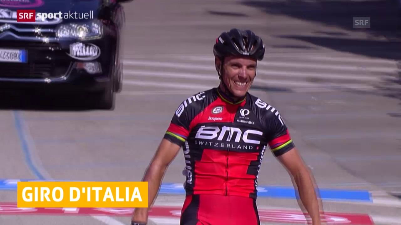 Rad: Giro, 18. Etappe