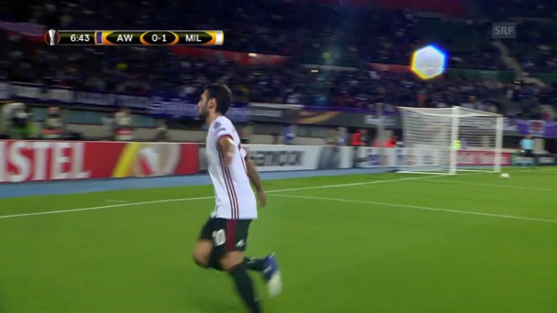 Video «Calhanoglu-Knaller brachte Milan in Front» abspielen